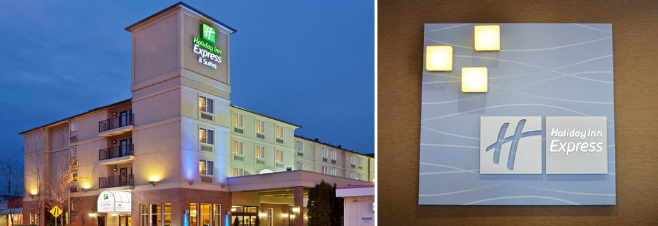 Pacific Inns Holiday Inn Express Header